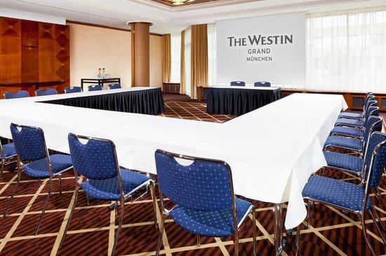 The Westin Grand Munchen: Meeting Room Barcelona