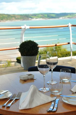 Cliff Restaurant: View from the Gallery