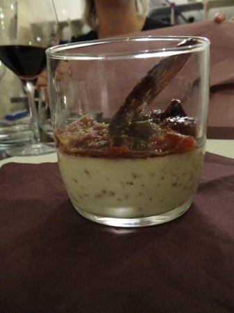 Bistro du'O : le dessert à la figue