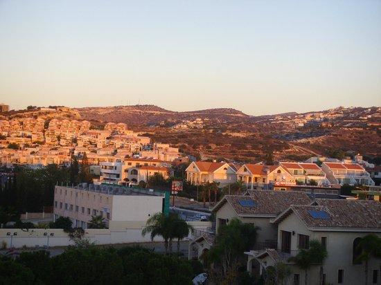 Elias Beach Hotel: sunrise from balcony