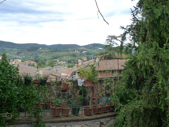 Fattoria Guicciardini: View from our window