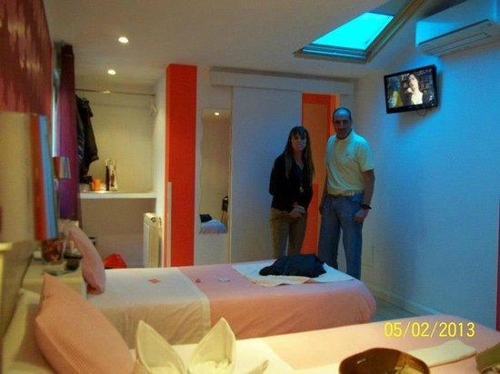 Hostal Madrid Inn: Habitación