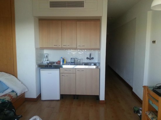 Hotel Green Field: Living room kitchen 2nd sleeping area