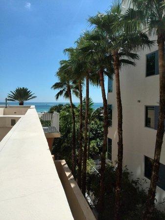 Marriott Stanton South Beach: terraza primera planta