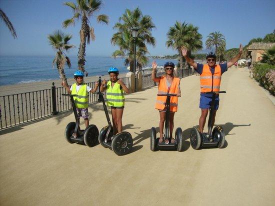 Picture of marbella segway tours marbella - Marbella family fun ...