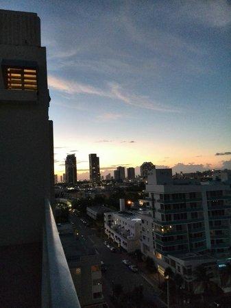 Marriott Stanton South Beach : Vistas desde la última planta