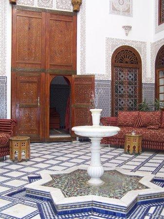 Riad La Perle De La Medina: Le patio