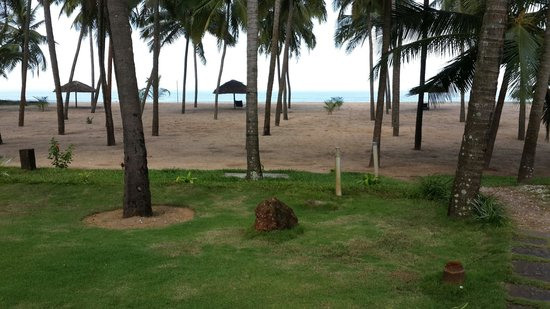 Malabar Ocean Front Resort and Spa: View from the room