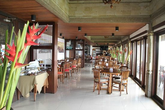 Lakeview Ecolodge: The restaurant