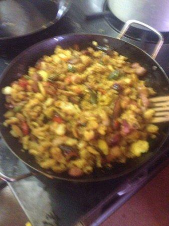 Casa Benito: Migas Extremeñas home made from head cheff Juan ma