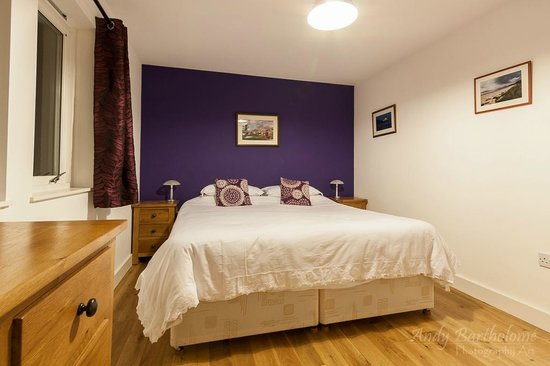 Beinn Edra House Bed & Breakfast: Super kingsize bed