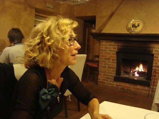 La Locanda della Maison Verte: Piccola sale per la cena