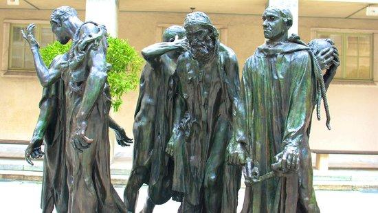 Kunstmuseum Basel: Rodin Sculpture outside Kunstmuseum