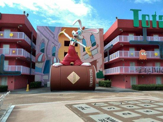 Disney's Pop Century Resort: zona de los 90