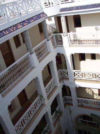 Riad Dar L'Oussia : Vue de la terrasse