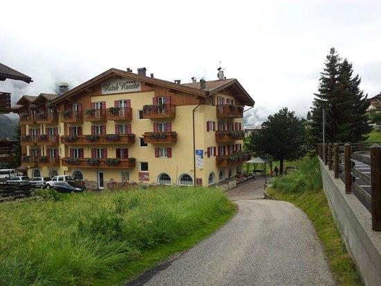Family Wellness Hotel Renato: Dalla stradina di accesso