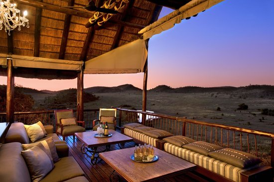 Tshukudu Bush Lodge: View from deck
