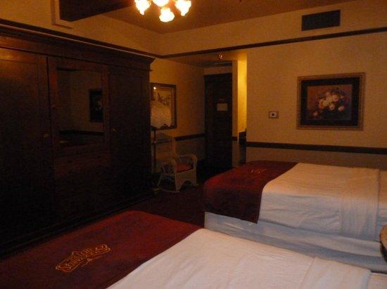 Stockyards Hotel: Bedroom