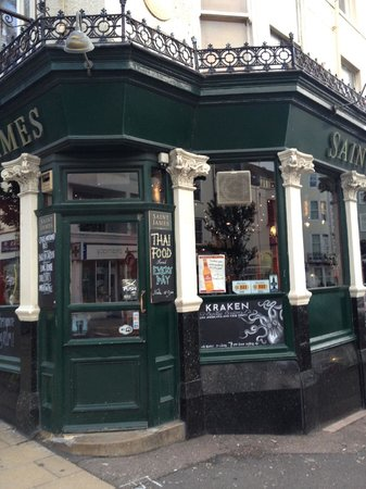St James Tavern: The Saint James pub, St James Street, Brighton