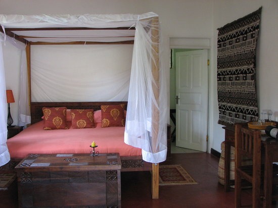 The Boma: comfy bed