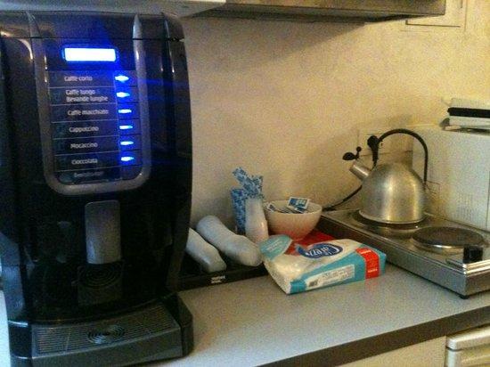 WRH Termini: Macchinetta del caffé