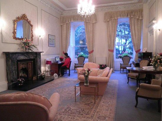 Terrace Hotel: Sala de estar