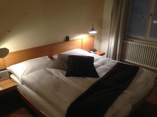 Hotel Krafft Basel : Bed