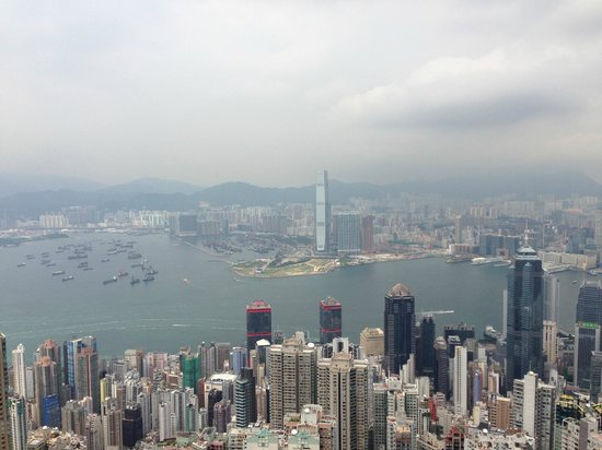 J3 Private Tours Hong Kong: The view from the top