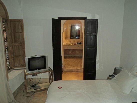Riad Al Assala Medina: chambre rez de chaussée