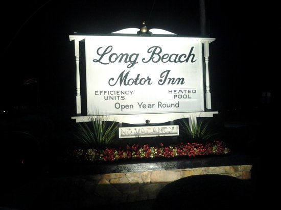 Long Beach Motor Inn: The Sign!