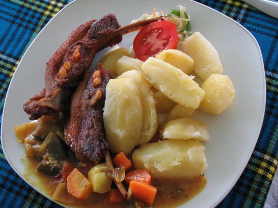 Ziwa Rhino and Wildlife Ranch: tasty food in large portions
