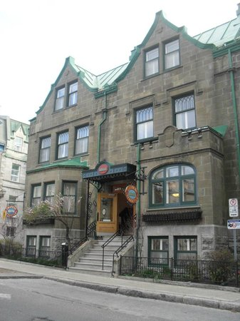 Hotel Chateau Bellevue: Frente del Hotel