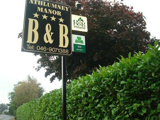 Athlumney Manor B&B: ATHLUMNEY MANOR