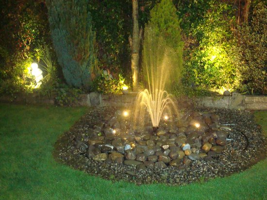 Athlumney Manor B&B: GARDEN AT NIGHT