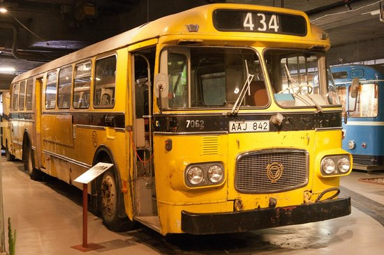 Stockholm Transport Museum (Sparvagsmuseet)