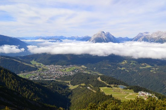 Seefeld in Tirol, Österreich: Top of the Rosshutte