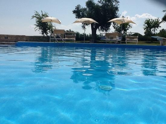 Masseria Panareo : piscina in pieno agosto!