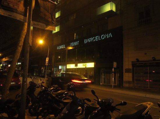Hotel Zenit Barcelona : esterno
