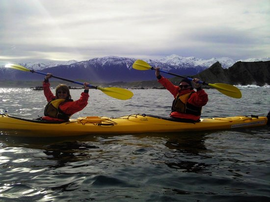 Kaikoura Kayaks: Kaikoura's snow capped mountains