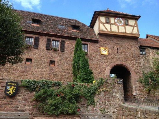Dilsberg: Village gate