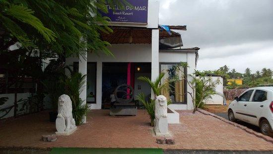 Estrela Do Mar Beach Resort: Main Entrance of the Resort