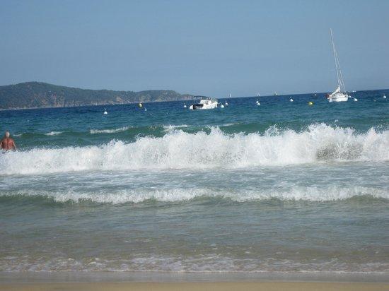 Le Wapiti : la mer agitée :