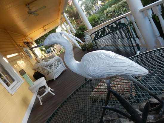 Coombs House Inn: The veranda
