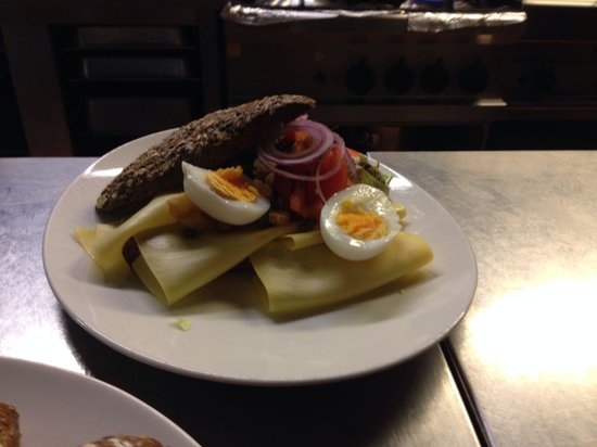 Brasserie L'Anders: Healthy sandwich