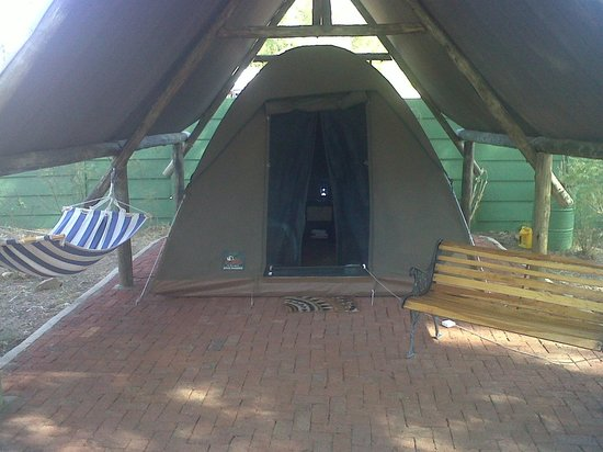 UrbanCamp.net - Camping, Leisure, Windhoek: the tent I stayed in