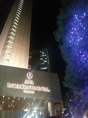 Ana Intercontinental Tokyo: outside