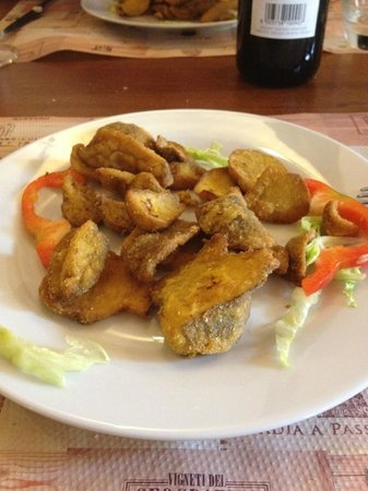 I due regni: Fried Porcini