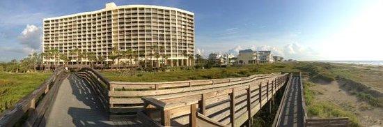 Panoramic view of the Galvestonian