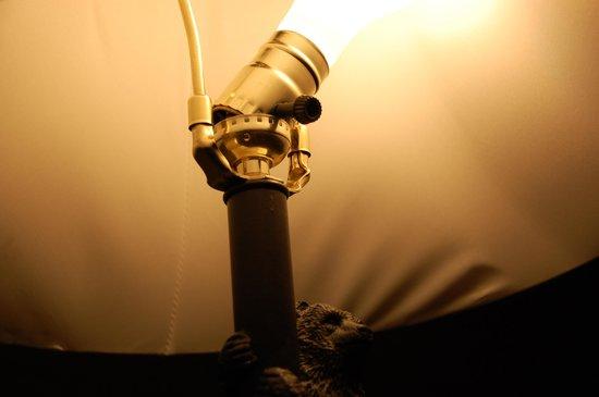 Lake Condominiums: Broken lamp