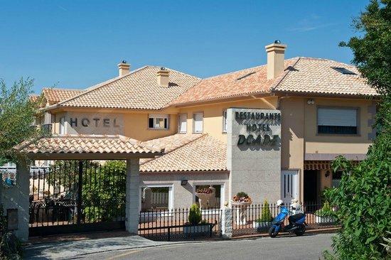 Hio, Spania: fachada del hotel
